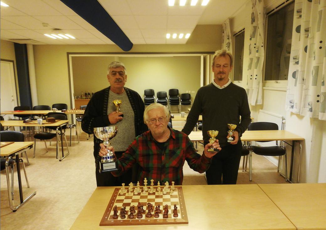 Josip Vrabec vann Öppna Oskarshamnsmästerskapen i snabbschack