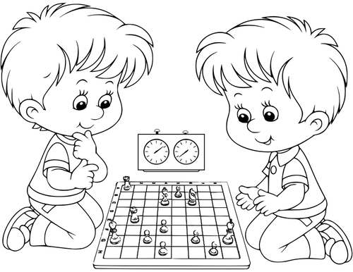Nu börjar schackskolan